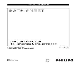 74HC14D-T.pdf