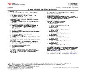 MSP430F2274IDAR.pdf