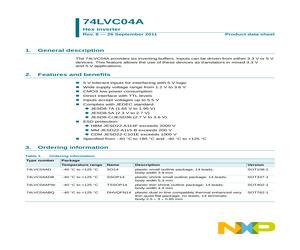 74LVC04ADB.pdf