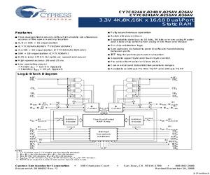 CY7C024AV-25ACT.pdf