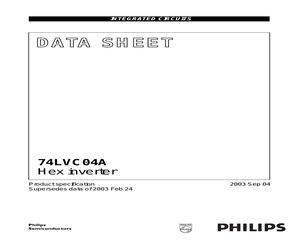 74LVC04ADB,112.pdf