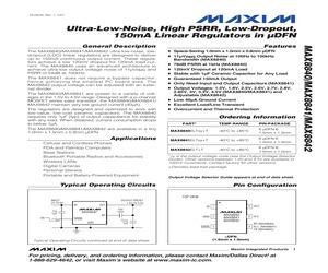 MAX8840ELT25+T.pdf