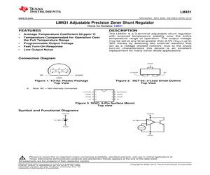 LM431CIM3/NOPB.pdf