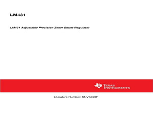 LM431AIM3/NOPB.pdf