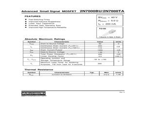 2N7000TAD26Z.pdf