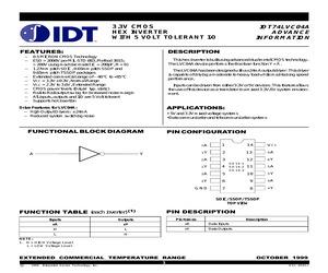 IDT74LVC04ADC.pdf